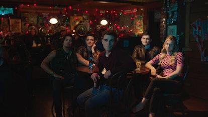 Drew Ray Tanner as Fangs Fogarty, Casey Cott as Kevin Keller, Chris Mason as Chad Gekko, Lili Reinha...
