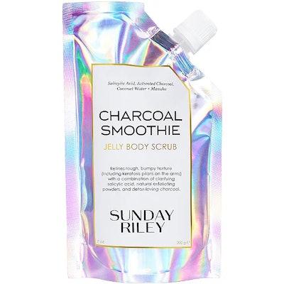 Charcoal Smoothie Exfoliating Jelly Body Scrub