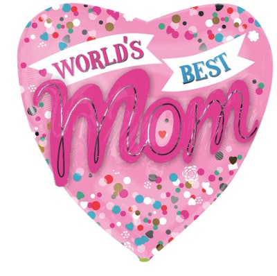World's Best Mom Balloon