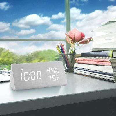 JALL LED Digital Alarm Clock