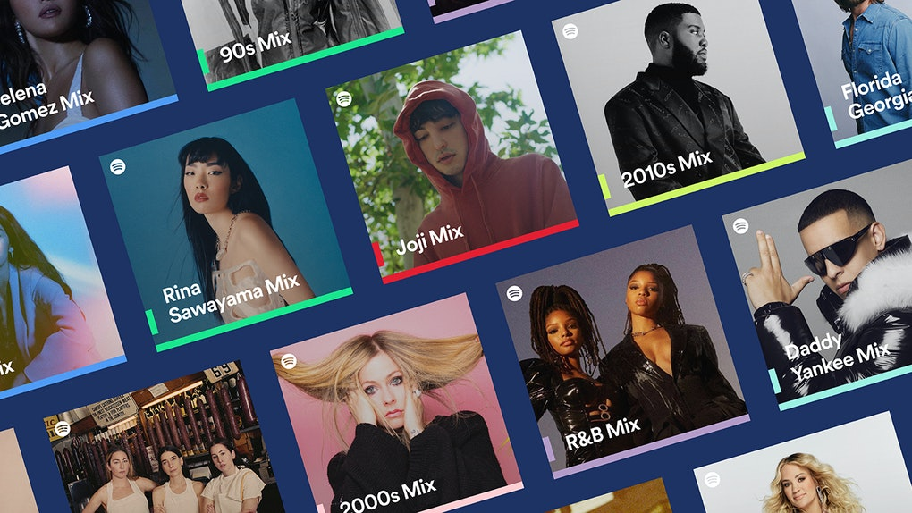 You can now find Spotify Mixes by Artist, Genre, and Decade on the app.