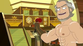 rick and morty season 4 story train lord
