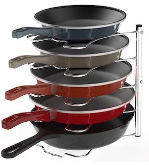 SimpleHouseware Pan and Pot Lid Rack Holder