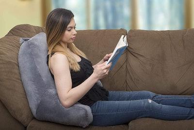 Ziraki Large Plush Shredded Foam Reading Pillow