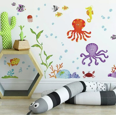 Adventures Under The Sea Peel & Stick Wall Decal