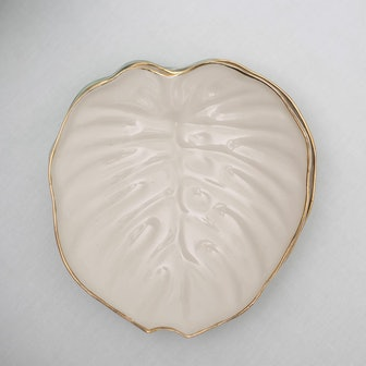 Philodendron Salad Plate 2 Set