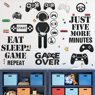 Gamer Wall Sticker Set
