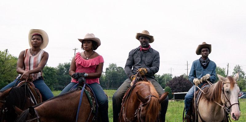 A still from 'Concrete Cowboy,' via the Netflix press site.