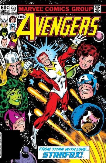 Avengers Starfox