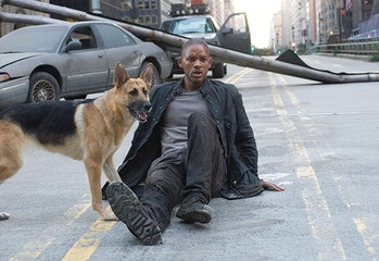 i am legend will smith and dog