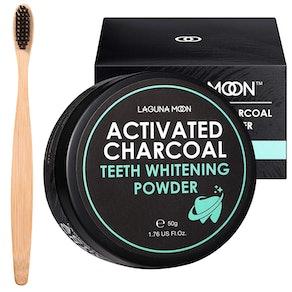 Lagunamoon Activated Charcoal Teeth Whitening Powder