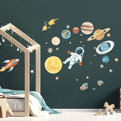 Sun & Planets Wall Stickers Set