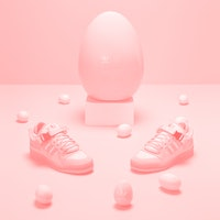 Bad Bunny's pink 'Easter Egg' Adidas Forum Low sneaker drops in April