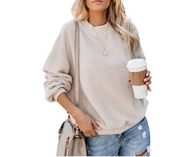 Shawhuwa Fleece Crewneck Sweater