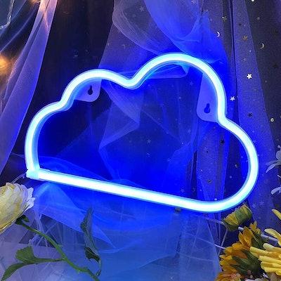 Blue Cloud Light Neon Signs