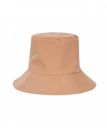 Panama Bucket Hat in Beige