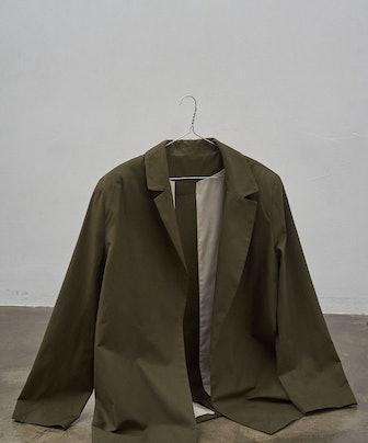 Single Vent Jacket in Dark Green
