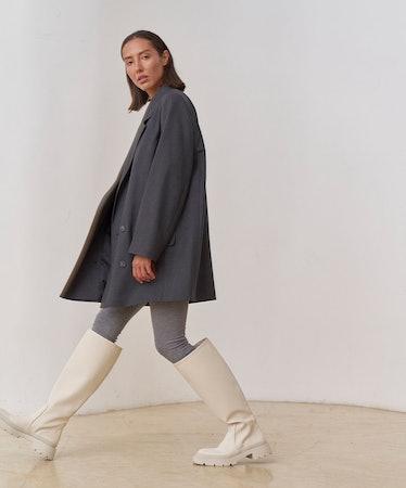 Jacket Dress in Graphite