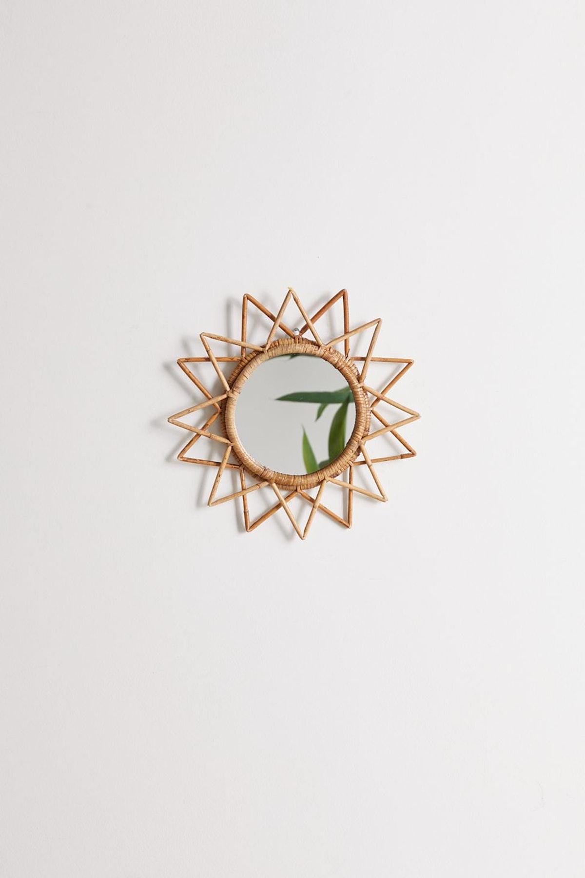 Magical Thinking Woven Wall Mirror, Sun