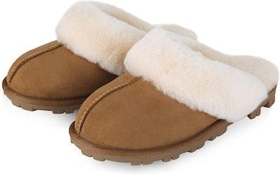 WaySoft Genuine Australian Sheepskin Slippers