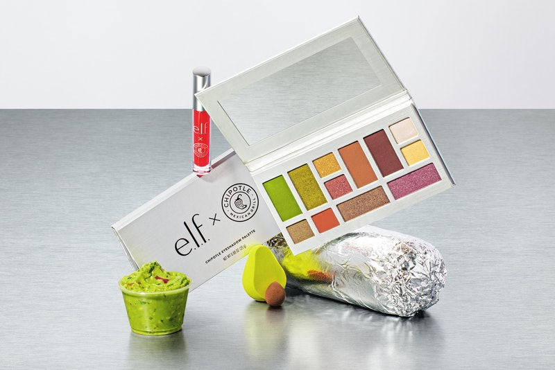 The e.l.f. Cosmetics x Chipotle collection comes with free guac.
