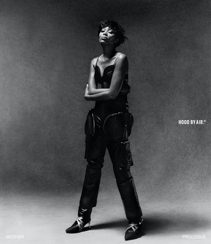 Naomi Campbell for Hood By Air.