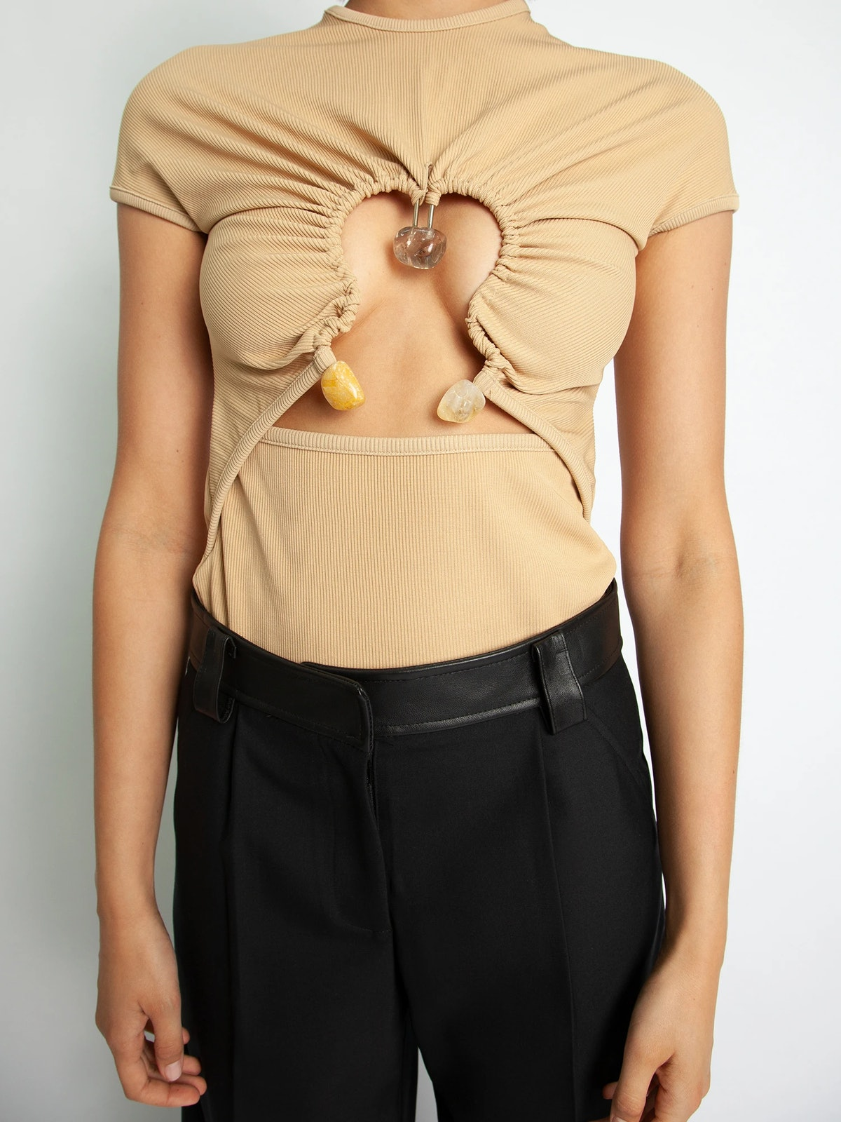Ruched Hiero Tee