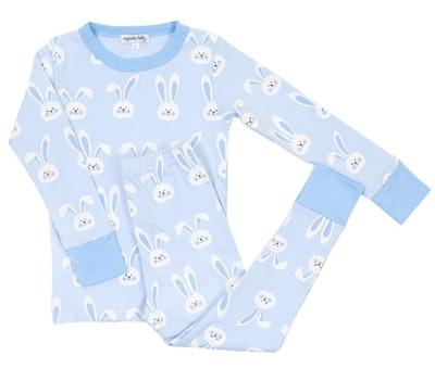 Little Boys Easter Bunnies Long Pajama