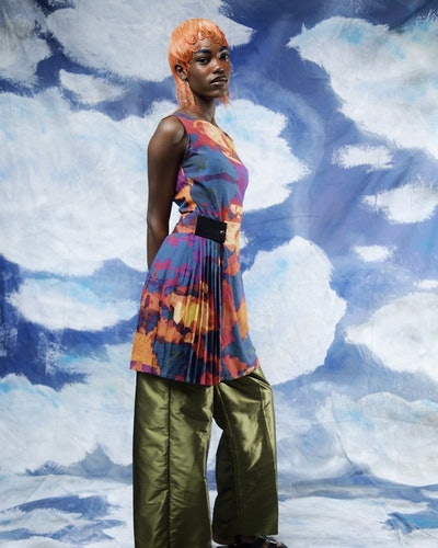 Look from Orange Culture's Spring 2021 Ready-To-Wear Collection.