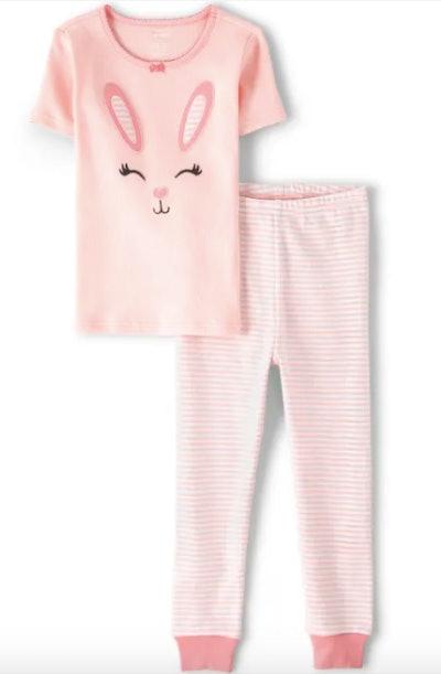 Girls Easter Cotton 2-Piece Pajamas