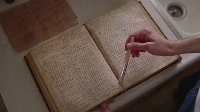 The Salamander Letter had a big impact on real-world events, depicted in 'Murder Among the Mormons.' Photo via Netflix