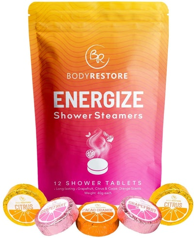 Body Restore Essential Oil Shower Steamers (12 Pack)