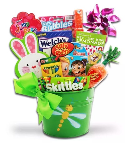 Springtime Outdoor Treats Easter Candy Variety Pack Gift Basket