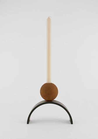 Contemporary Arch and Ball Extra Large Candleholder