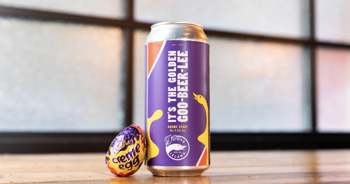 Cadbury's Sold-Out Creme Egg Beer Is Being Restocked For A Final Time