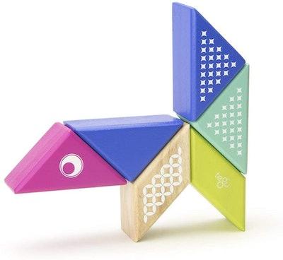 Tegu Travel Pal Magnetic Wooden Block Set
