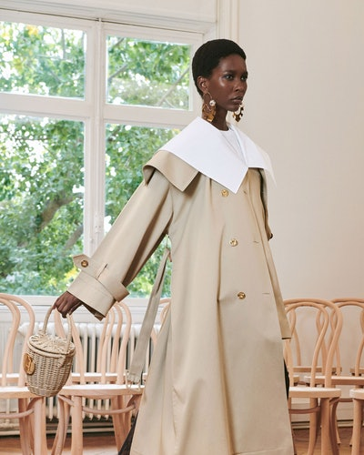 Model during Patou's Spring/Summer 2021 show.