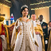 Vanessa Hudgens in 'The Princess Switch: Switched Again.' Photo via Netflix
