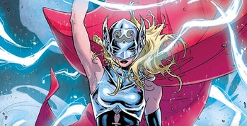 Jane Foster as The Mighty Thor in the Marvel Comics