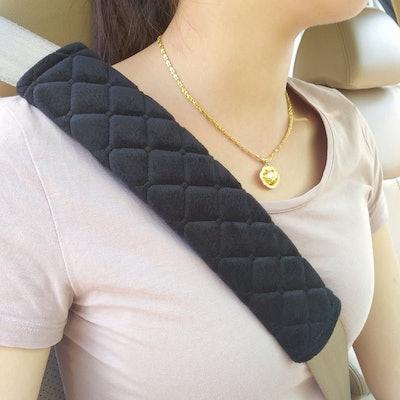 MIKAFEN Universal Car Seat Belt Pads (2-Pack)