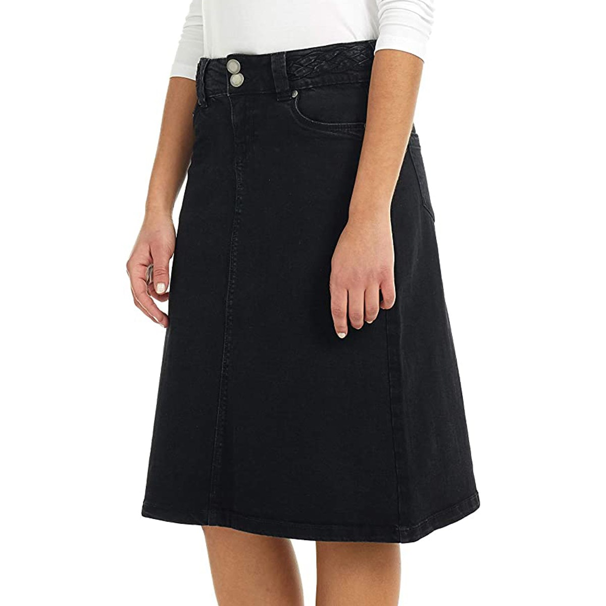 ESTEEZ A-Line Jean Skirt
