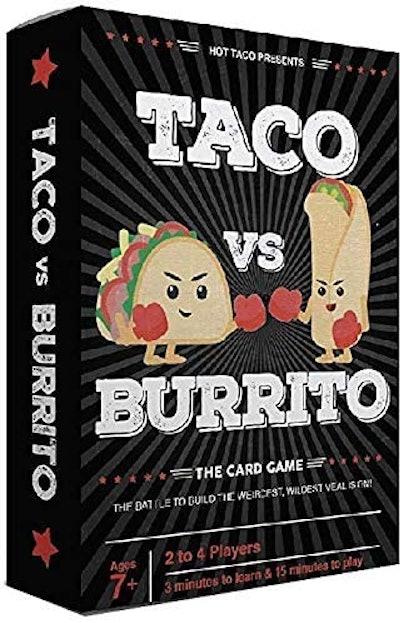 Taco vs Burrito Strategic Card Game