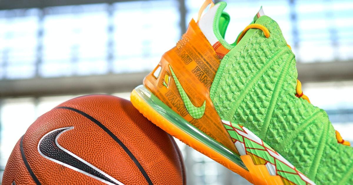 Just as with Jordan, Nike's bringing LeBron's logo to more basketball teams