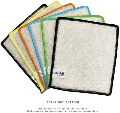 Whiff Bamboo Dishcloths (6-Pack)