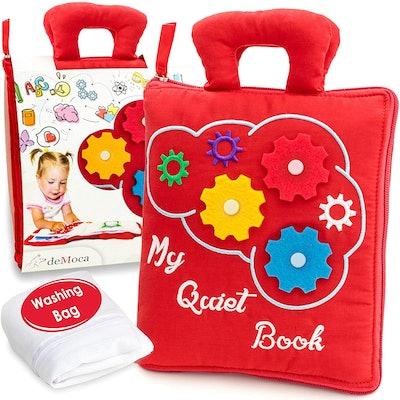 deMoca Quiet Book for Toddlers
