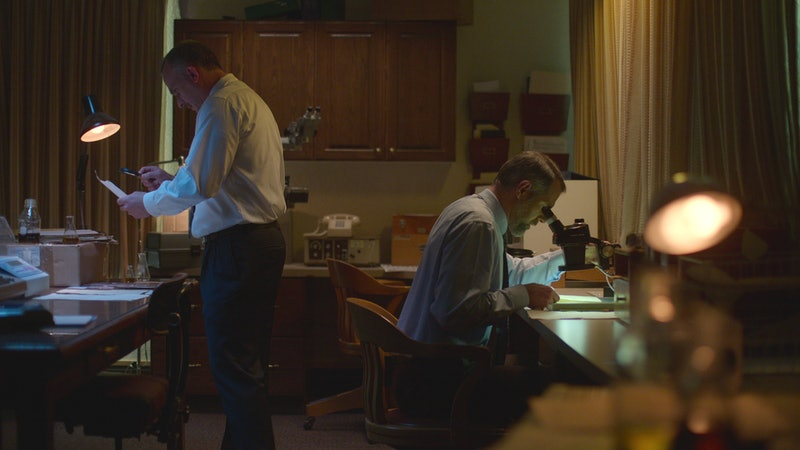 Investigators in 'Murder Among the Mormons', via Netflix press site.