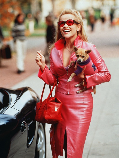 Reese Witherspoon in Legally Blonde, a beloved film for female empowerment.