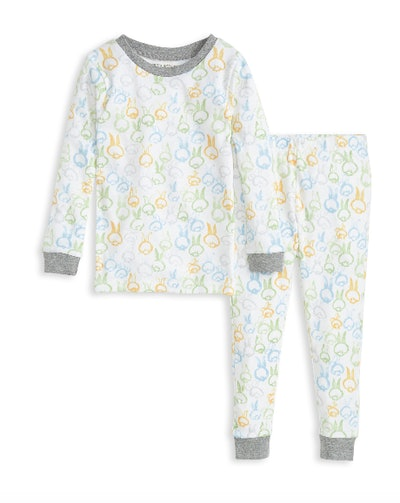 Cotton Tails Organic Toddler Snug Fit Easter Pajamas