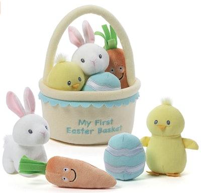 My First Easter Basket Stuffed Plush