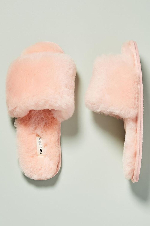 Casa Clara Frankie Shearling Slippers